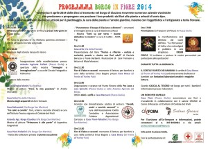 Bozza programma BIF 2014
