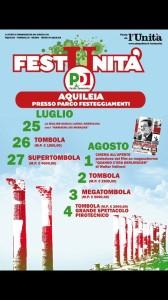 Festa Unità Aquileia